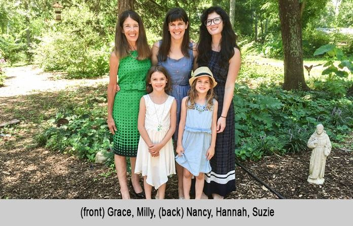 Grace, milly, Nancy Hannah, and Suzie