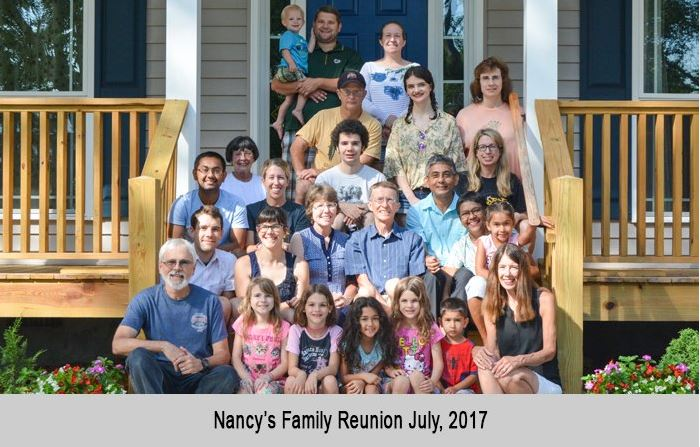 Clemens family reunion July, 2017
