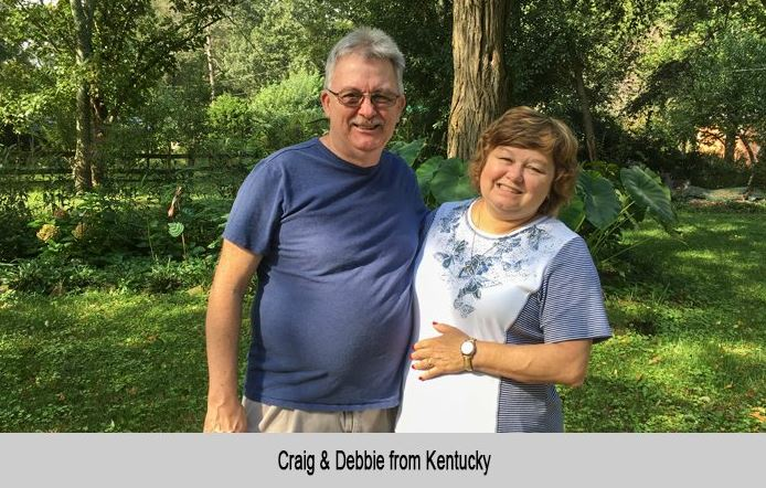 Craig and Debbie from Kentucky