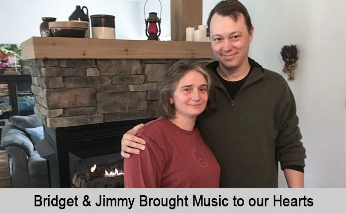 Bridget and Jimmy brough music to our hearts.