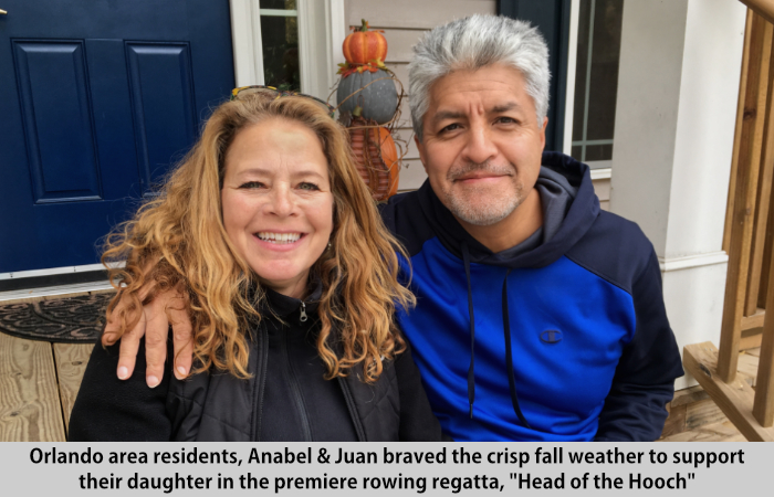 Anabel and Juan visit St Francis Cottage
